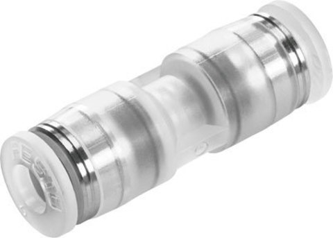 Муфта цанговая прямая Festo NPQP-D-Q8-E-FD-P10 (комплект 10 шт)