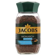 """Кофе """"Jacobs"""" Монарх  без кофеина  ст/б 95г"""