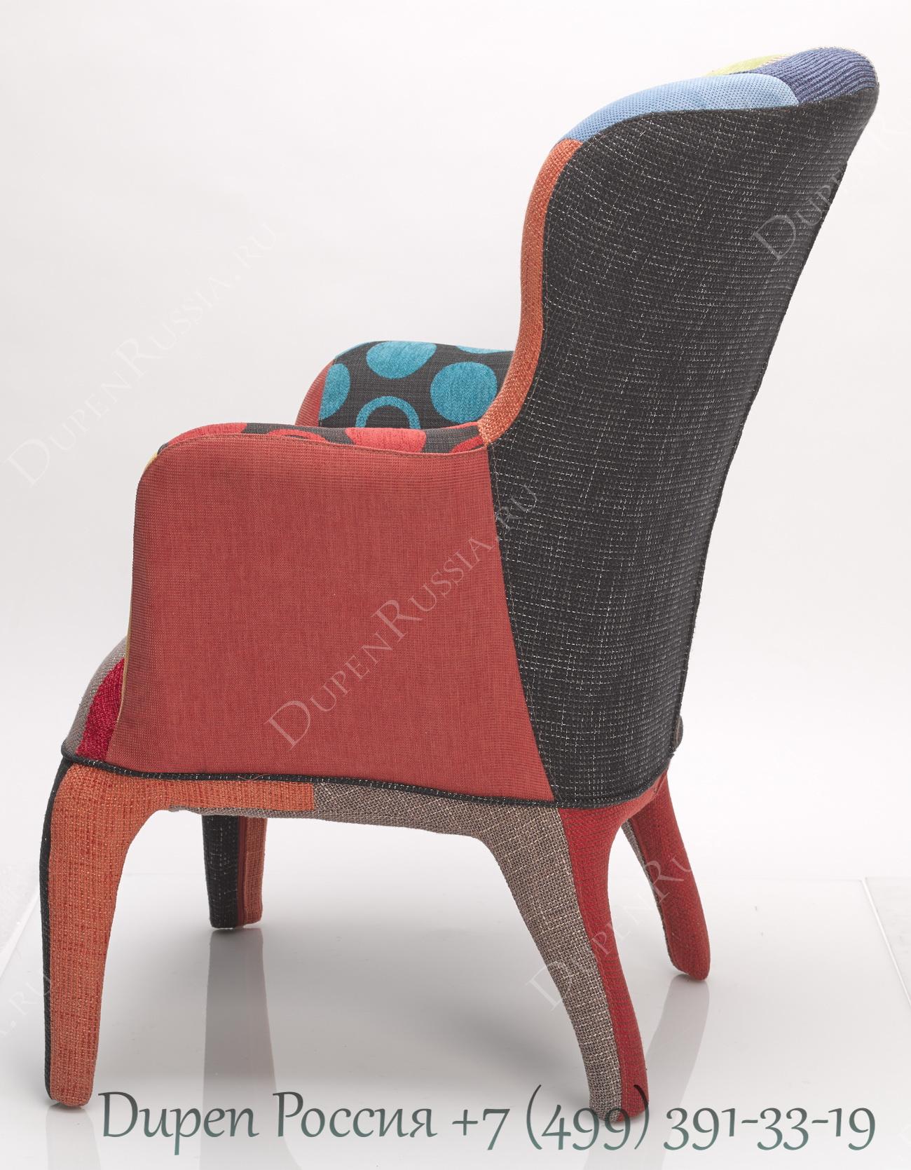 Кресло DUPEN 689P Patchwork