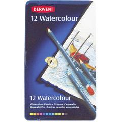 Набор из 12 акварельных карандашей Derwent Watercolour