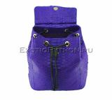 Рюкзак из кожи питона BG-284