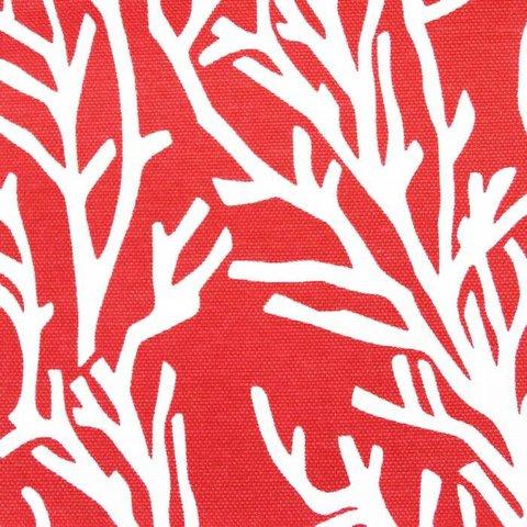 Хлопковая ткань Форест уличная коллекция красный