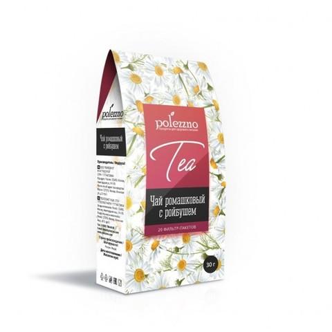 Polezzno ромашковый чай с ройбушем 30 г