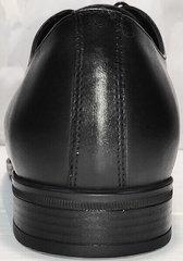 Выпускные туфли кожаные мужские Ikoc 2249-1 Black Leather.