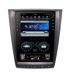 Магнитола для Lexus GS300/350 (2005-2011) стиль Tesla Android 9.0 4/64GB IPS  DSP модель ZF-1252H-DSP