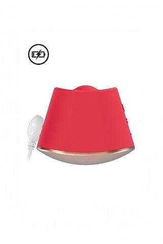 Клиторальный стимулятор с вибрацией и ротацией Dazzling