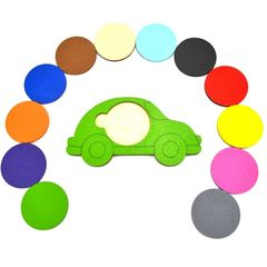 Машинки с кругами Нейромаг