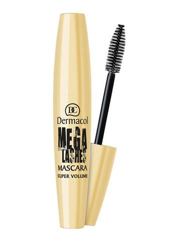 Dermacol Mega Lashes Mascara Тушь для придания великолепного объема с панорамным эффектом, 13мл