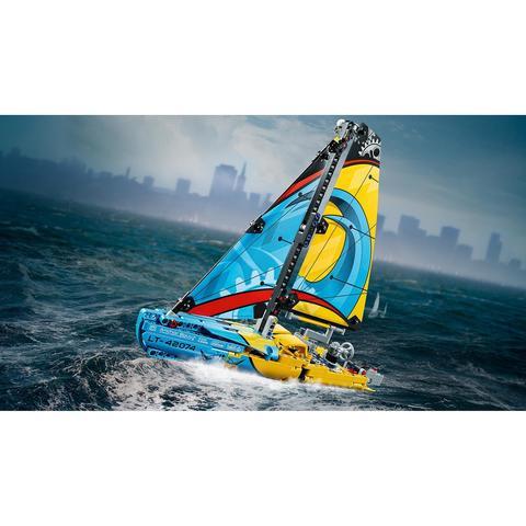 LEGO Technic: Гоночная яхта 42074 — Racing Yacht — Лего Техник
