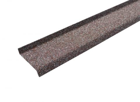 Цокольная планка Технониколь Hauberk мраморный 17х85х20х1250 мм
