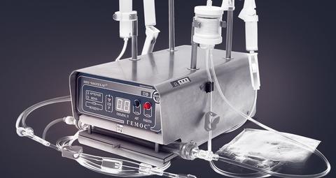 Портативные аппараты серии «Гемос®» (для гемосорбции и плазмафереза).