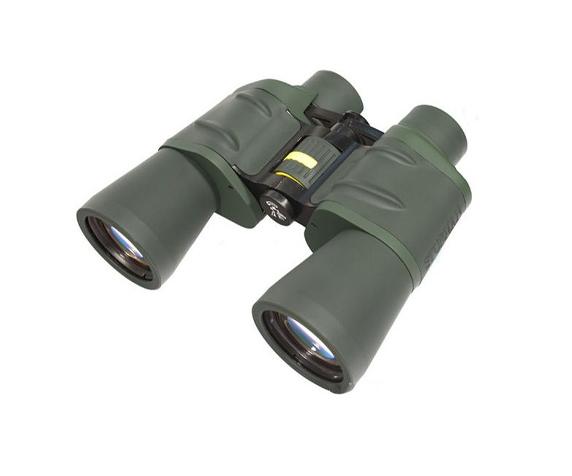 Бинокль Sturman 10x50 с сеткой зелёный - фото 1