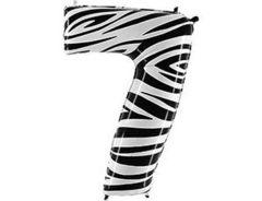 Г Цифра 7, Zebra (Зебра), 40