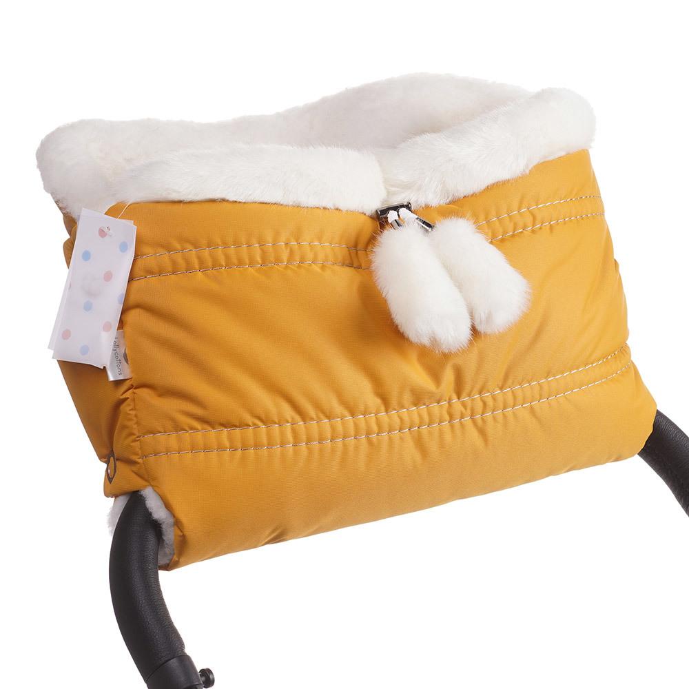 Муфты для рук Lollycottons Муфта для коляски Lollycottons медовая Муфта-Lolly-cotons---MAXI-SAVE_-медовый-5.jpg