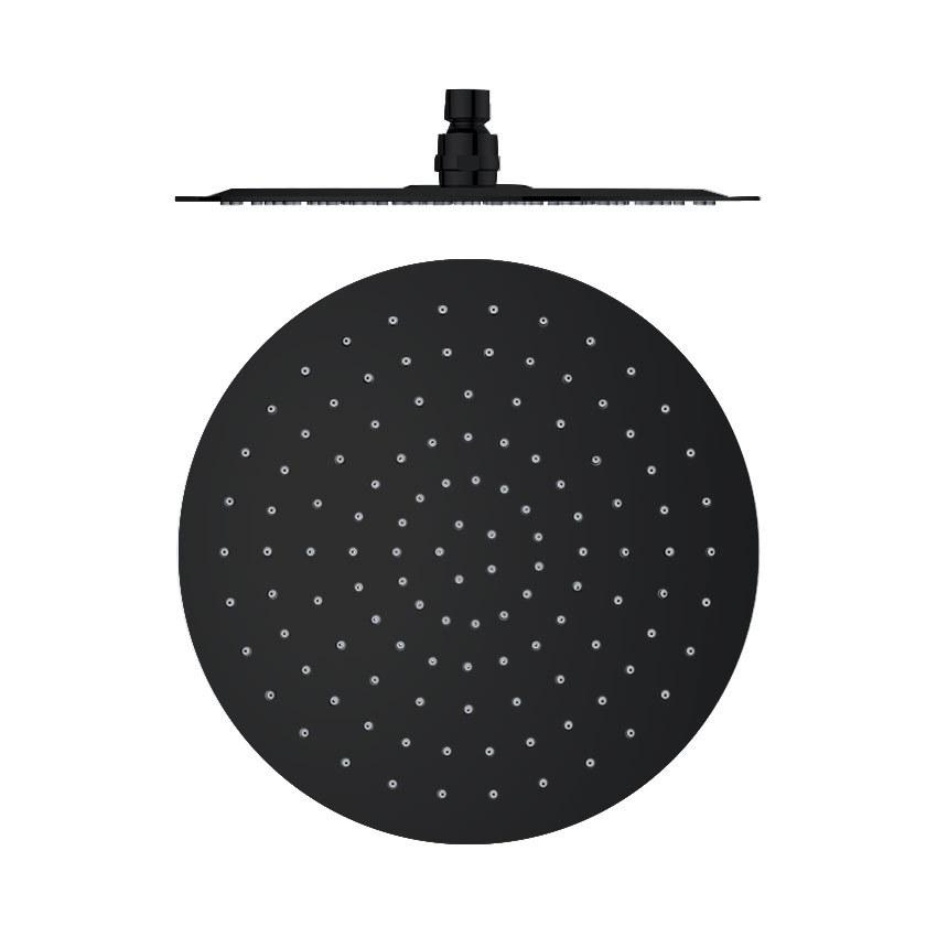 Круглая насадка для верхнего душа RM250NM черный