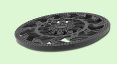 Решетка водоприемная d 327мм пластиковая круглая 3382
