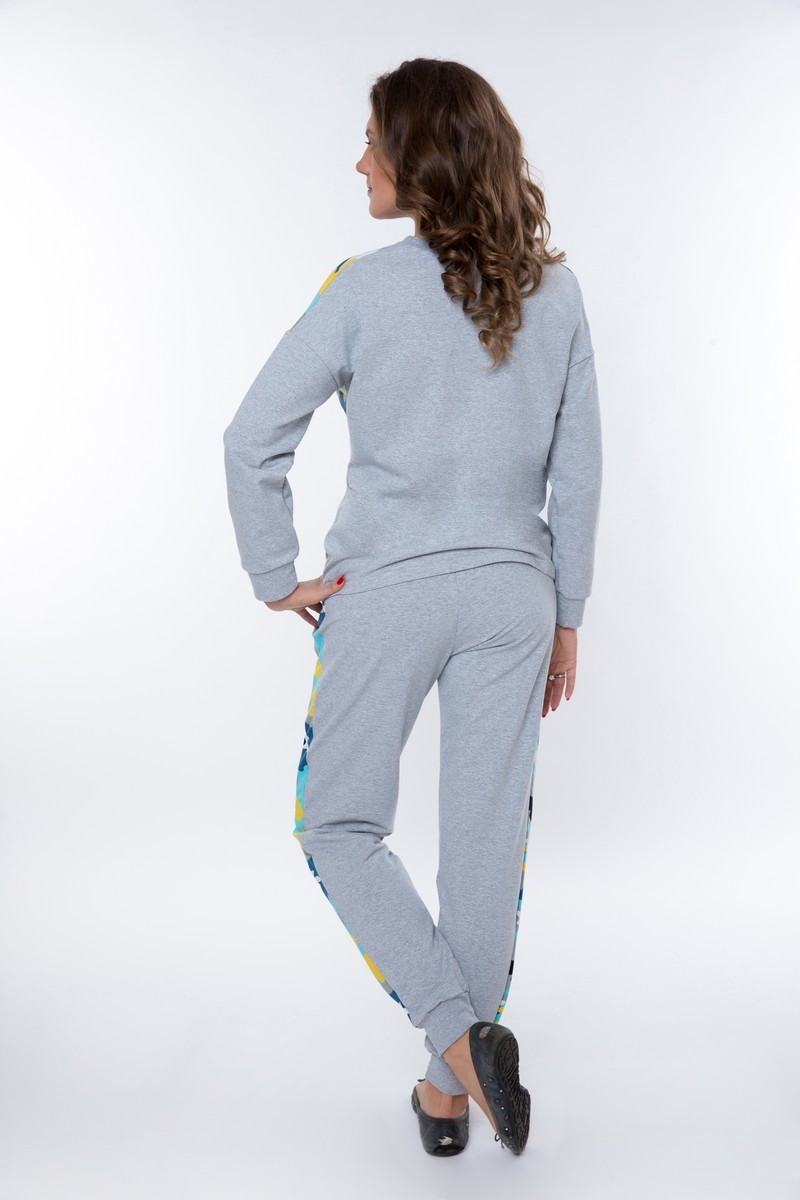 Спортивный костюм для беременных и кормящих 08957 цветной