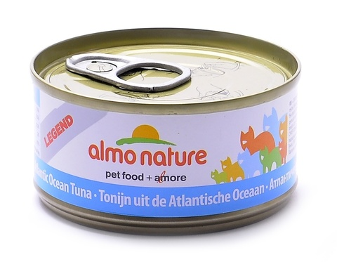 Консервы (банка) Almo Nature Legend Adult Cat Atlantic Tuna