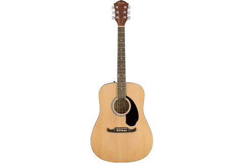 FENDER FA-125 DREADNOUGHT ACOUSTIC NATURAL акустическая гитара