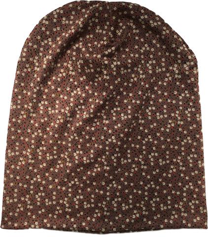 Женская летняя шапка-бини из вискозного трикотажа