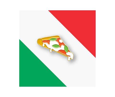Значок металлический Еда: Пицца
