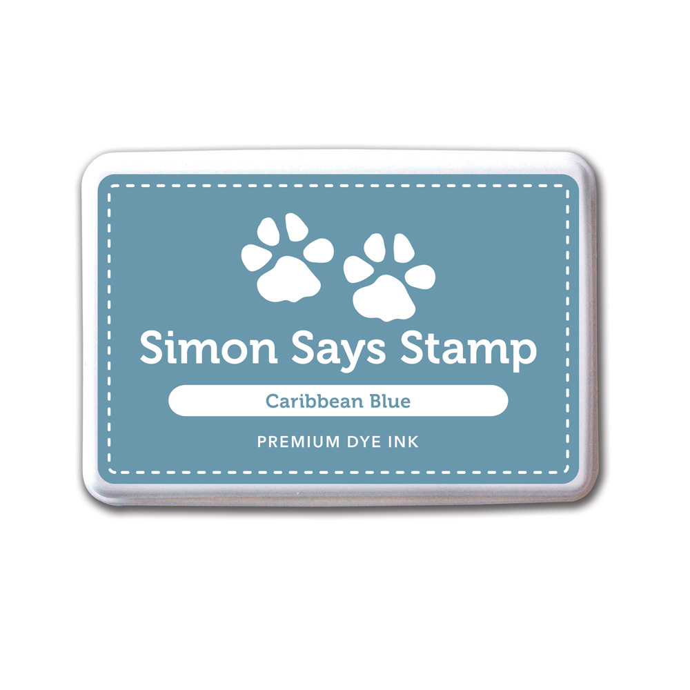 Архивные чернила Simon Says STAMP! Caribbean Blue