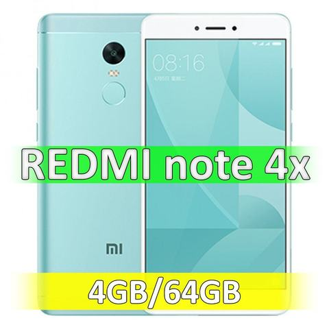 Xiaomi Redmi Note 4X (4-64Gb) Green