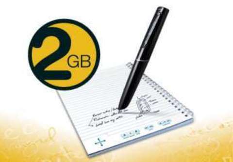 Livescribe 2GB Echo Smartpen Starter Pack - цифровая ручка и блокнот