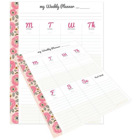 Отрывной блок-еженедельник My Happy Place Composition Planner Pad - 19х24,6 см