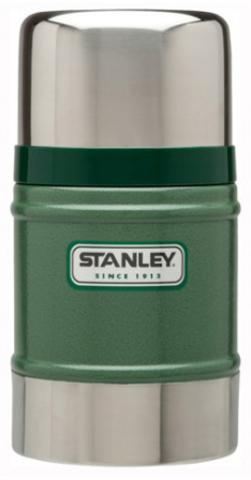 Картинка термос для еды Stanley Classic Food 0.5L Зеленый - 1
