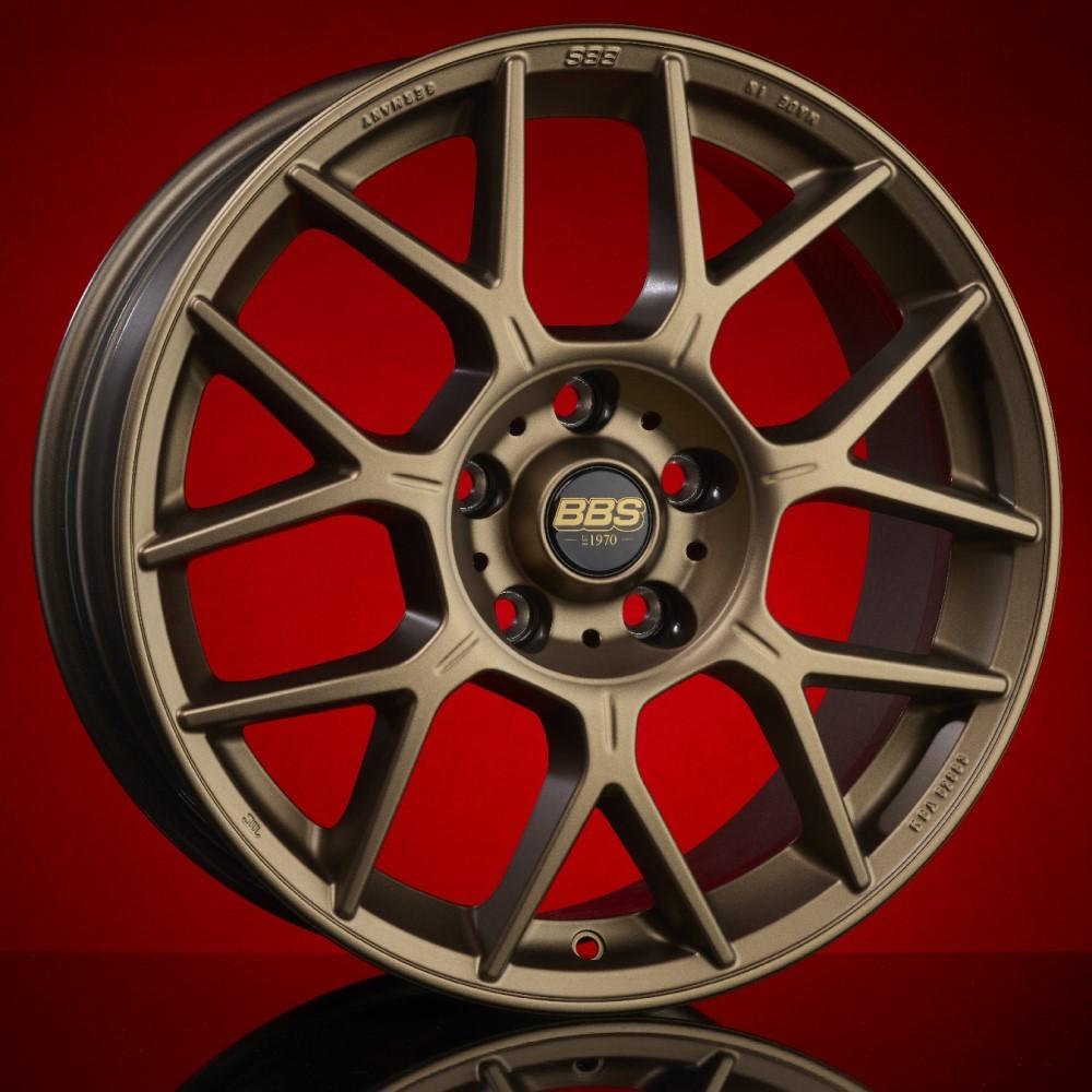 Диск колесный BBS XR 8x18 5x112 ET37 CB82.0 satin bronze