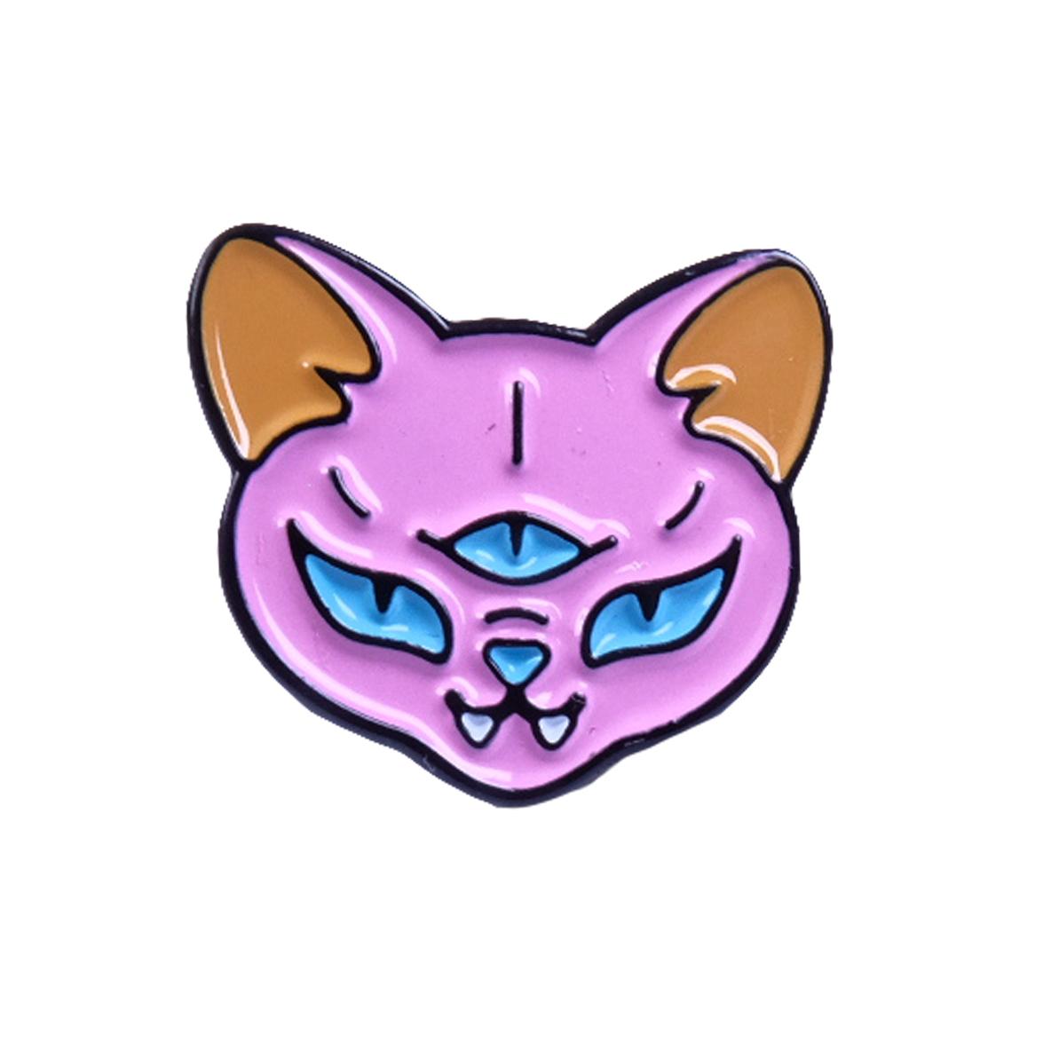Pink cat / значок