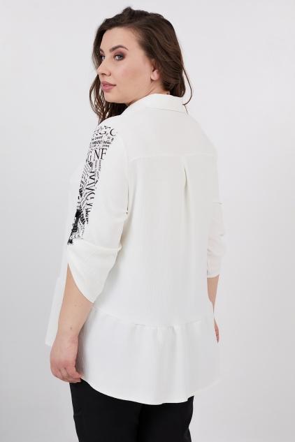 Рубашка Кьяра (молочный)