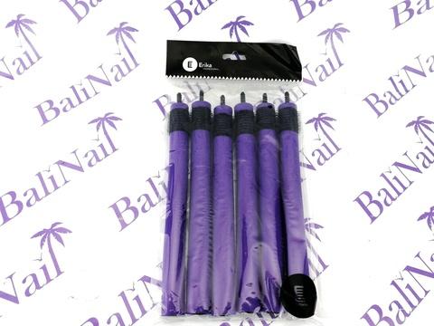 Папильотки с липучкой, для более надежного закрепления пряди, (6шт/уп) 18*180 мм