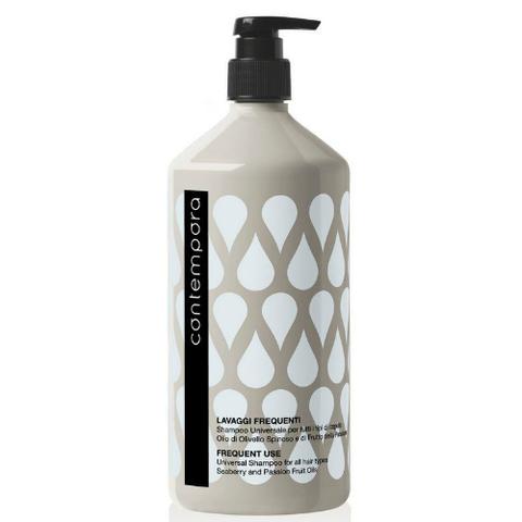 Шампунь универсальный для всех типов волос с маслом облепихи и маслом маракуйи Barex