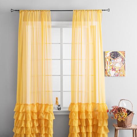 Комплект штор Фрезия желтый