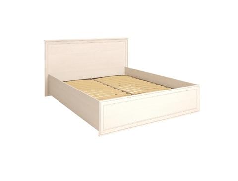 Кровать двойная под ортопедическое основание Венеция 5 Ижмебель 160х200 бодега светлая