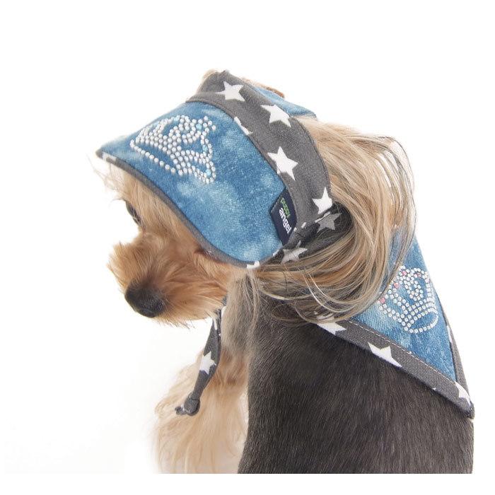 184 PA  - Джинсовая кепка для собак