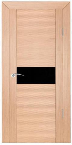 Дверь Zadoor D2Бриз, цвет беленый дуб, остекленная