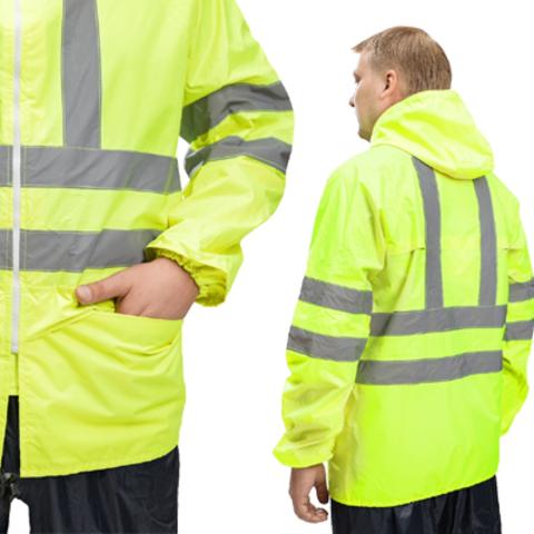 Куртка зеленая влагозащитная Extra-Vision WPL