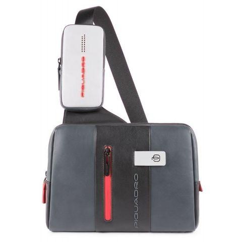 Рюкзак унисекс Piquadro Urban (CA4974UB00/GRN) серый/черный кожа