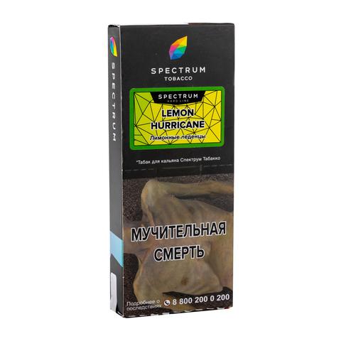 Табак Spectrum Hard line Lemon Hurricane 100 г
