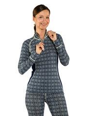 Devold термобелье футболка Alnes Woman Half Zip Neck