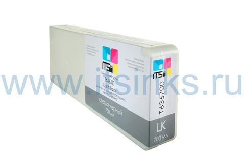 Картридж для Epson 7890/9890 C13T636700 Light Black 700 мл