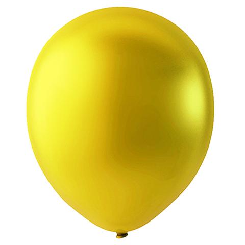 Шар Золотой Металлик, 30 см
