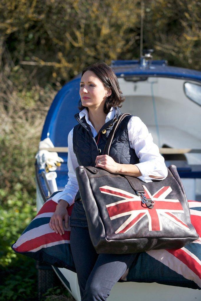Сумка для выходных с изображением британского флага Bradleys