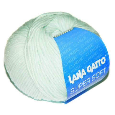 Пряжа Lana Gatto Supersoft 5281 мята