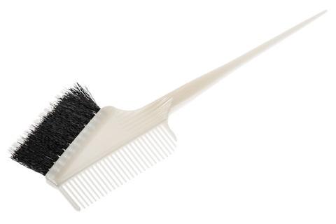 Кисть для окрашивания с расчёской с комбинированной щетиной