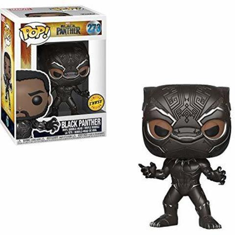 Фигурка Funko POP! Bobble: Marvel: Black Panther: Black Panther Chase