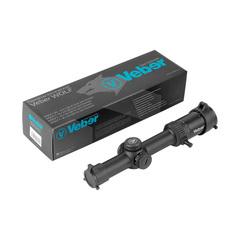 Прицел оптический Veber Wolf 1-6x24 GB FD Загонник